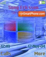 Windows XP Water es el tema de pantalla