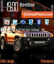 Hummer H3 Akpha es el tema de pantalla