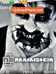 Rammstein Promo es el tema de pantalla