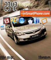 Honda by Tirle Od Ua es el tema de pantalla