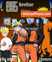 Naruto Evolution theme screenshot