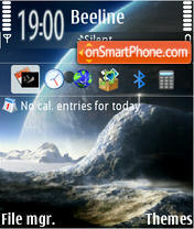 Universe 02 theme screenshot