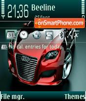 Audi by dj Mendoff es el tema de pantalla