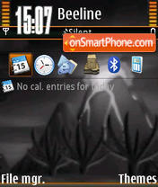 Vulkan tema screenshot