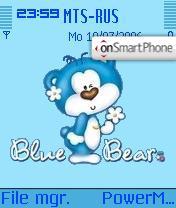 Blue Bear theme screenshot