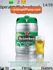 Heineken Beer es el tema de pantalla