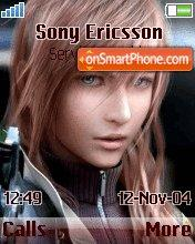 Lightning theme screenshot