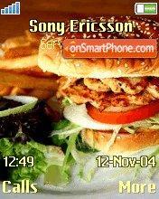 Burger es el tema de pantalla