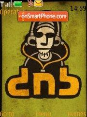 Dnb 01 theme screenshot