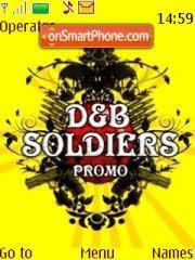 Dnb Soldiers theme screenshot