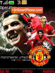 Go Man Utd theme screenshot