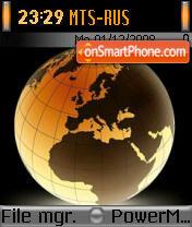 Earth 80 es el tema de pantalla