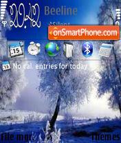 Winter 10 es el tema de pantalla