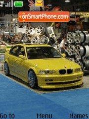 Tuning BMW 01 theme screenshot