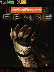 Dead Space theme screenshot