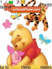 Pooh Friendship es el tema de pantalla