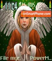 Peaceful Christmas es el tema de pantalla