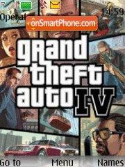 GTA 4 theme screenshot