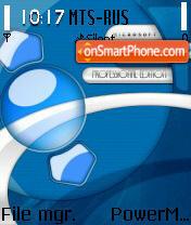 Windows XP Blue edition theme screenshot