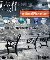 Winter 240-320 es el tema de pantalla