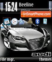 Black Audi V1 es el tema de pantalla
