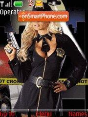 Sexy Cop Girls 3 theme screenshot