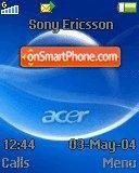 Acer Aspire es el tema de pantalla