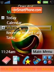 Sony Gold theme screenshot