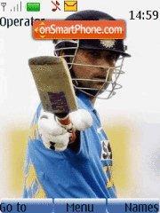 Sachin The Great theme screenshot