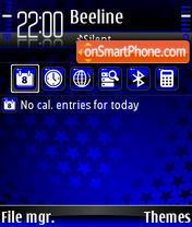 Stars 06 es el tema de pantalla