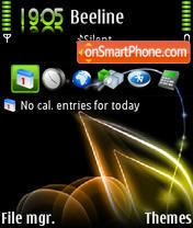 Nokialino 01 theme screenshot