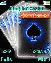 Card Game es el tema de pantalla