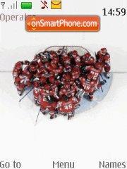 Hockey Champions theme screenshot