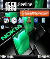 Nokia Green V1 es el tema de pantalla