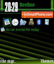 Green Design V1 es el tema de pantalla