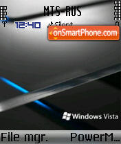 Vista Black 04 theme screenshot