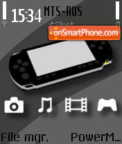 PSP 01 theme screenshot
