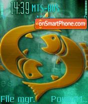 Pisces 04 es el tema de pantalla