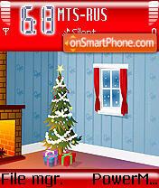 Warm Christmas es el tema de pantalla