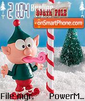 Xmas Elf es el tema de pantalla