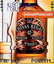 Chivas Regal theme screenshot