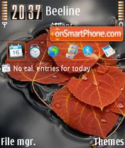 Leaves mix 3.0 theme screenshot