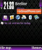 Style Purple tema screenshot