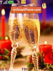 New Year Champagne es el tema de pantalla