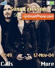 Nightwish theme screenshot