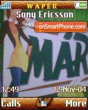 Marka Girl1 theme screenshot