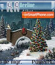 Night Before Christmas es el tema de pantalla