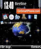 Universum V1 tema screenshot