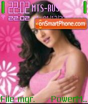 Katrina Kaif 09 theme screenshot