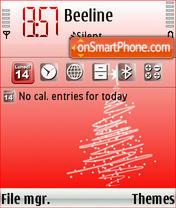 Natale 2007 es el tema de pantalla